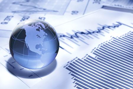 Global Business e Finanza Archivio Fotografico - 55300250