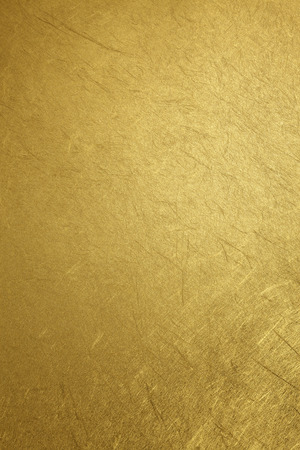 gold leaf: Gold background Stock Photo