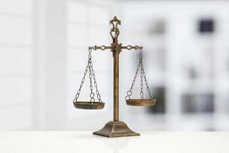 balanza justicia: Escala Justicia  Foto de archivo