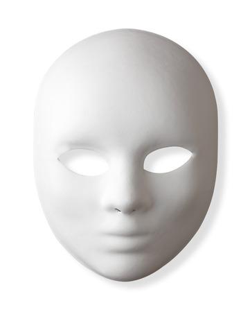 ホワイト マスククリッピング ・ パス 写真素材