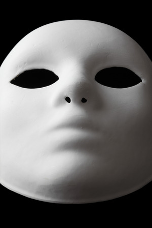 dressing up costume: White Mask