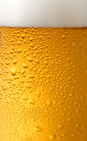background beer with foam and bubbles?