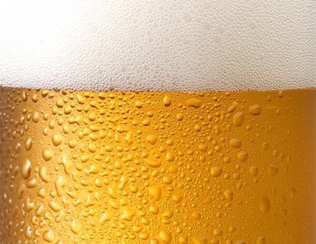 ビールの泡と泡の背景か。