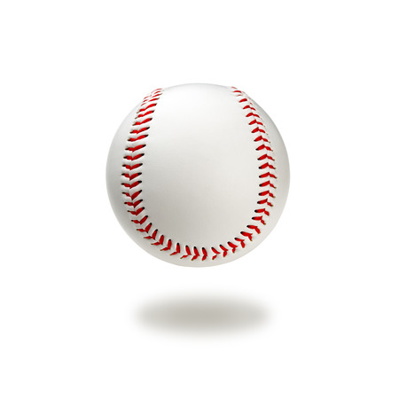 Baseball ball with clipping path