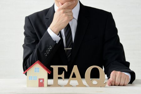 Housing Questions and Answers 写真素材