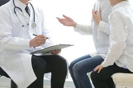Image of interview in pediatrics