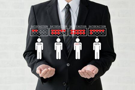 Business Image - Customer Satisfaction Banco de Imagens