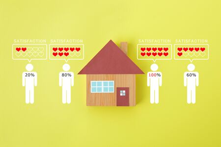 Image of satisfaction with housing