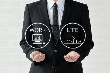 Business Image - Work-Life Balance 版權商用圖片