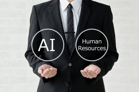 Business Image: Artificial Intelligence or Human Resources?