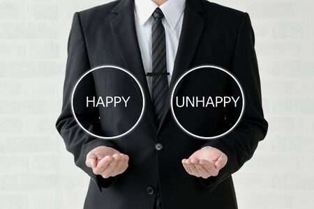Business Image: Happiness or Unhappiness