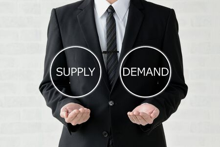 Business Image: supply or demand