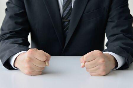 a frustrated businessman Banco de Imagens