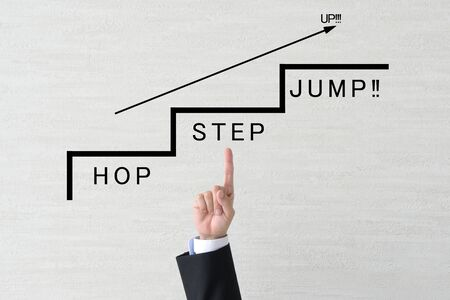 Business Image - Hop Step Jump
