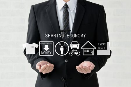 Businessmen and the Sharing Economy