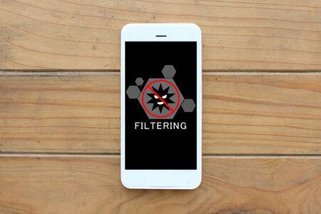 Filtering smartphones