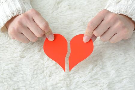 Heartbreak Image 스톡 콘텐츠