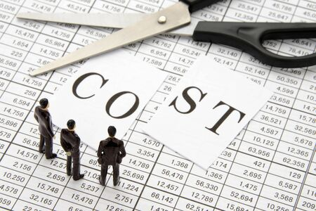 Business team to think about cost reduction