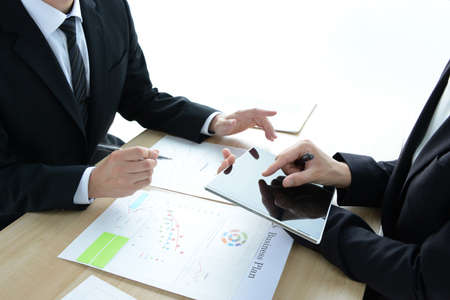 Business Scene - Meetings Standard-Bild