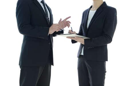 Business Scene - Advice 写真素材