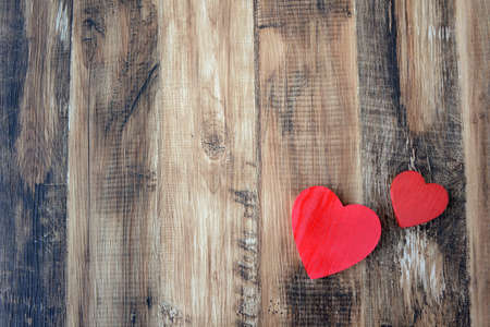 Heart and wood grain background textures