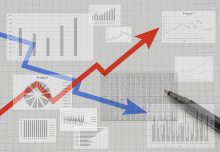 Business Image - Performance Up and Down