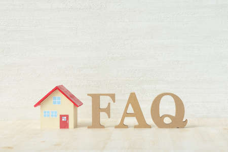 Housing Questions and Answer Images 写真素材