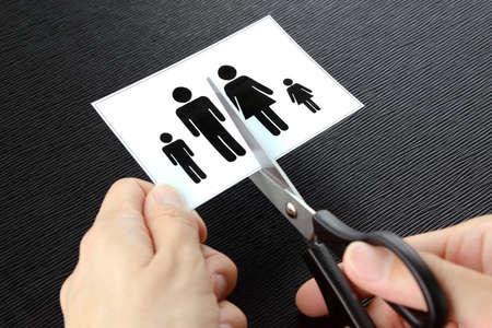 Image of family breakdown