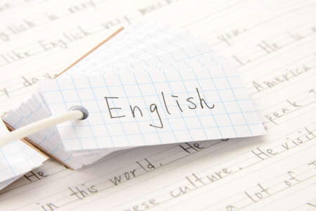 Image of English Education Zdjęcie Seryjne