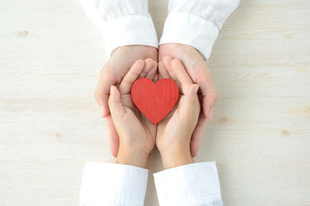 Image of parent-child bond