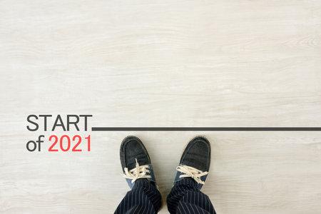 Men on the starting line-up for 2021 Imagens