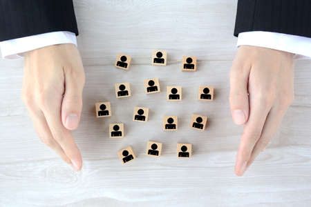 An image of securing and protecting human resources