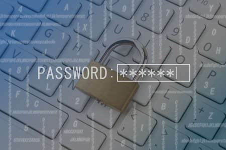 Password protection and security image