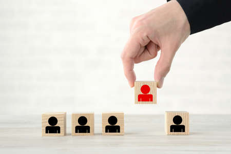 Business Image - Selection and Selection of People
