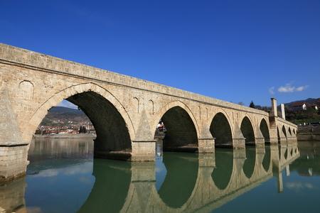 visegrad: Mehmed Pasa Sokolovic Bridge in Visegrad