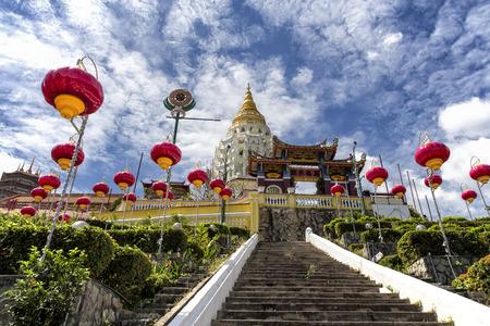 KEK Lok SI Buddhist temple in Penang Malaysia