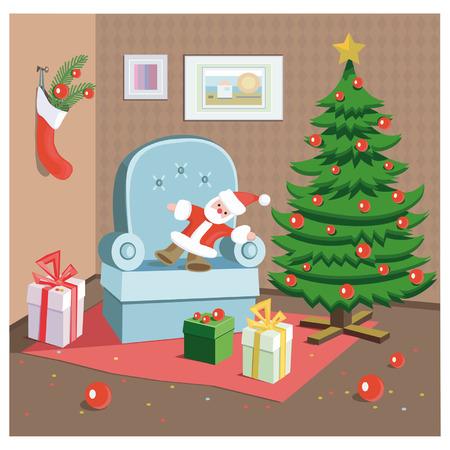 klaus: Christmas room