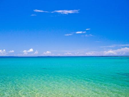 iluminados: mar de Okinawa
