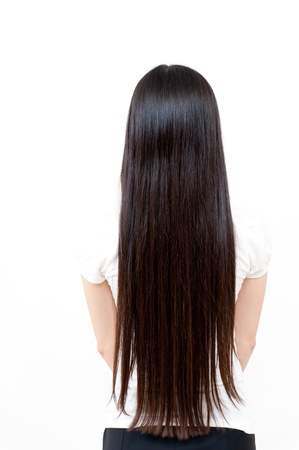 beautiful straight long hair