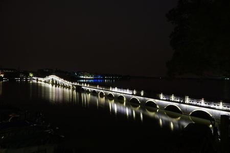 long: long bridge Stock Photo