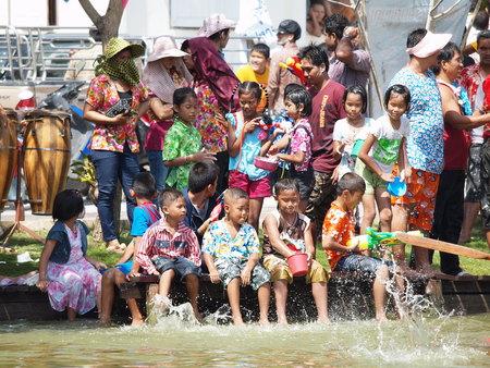 songkran: Songkran festival Editorial