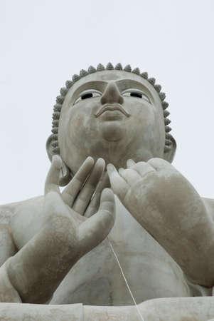 ratchaburi: Close-up, under construction of Buddha at Ratchaburi