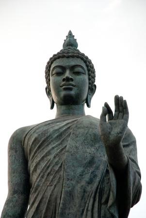 thaiart: A portion of big buddha statue at Phutthamonthon, Nakhon Pathom, Thailand Stock Photo