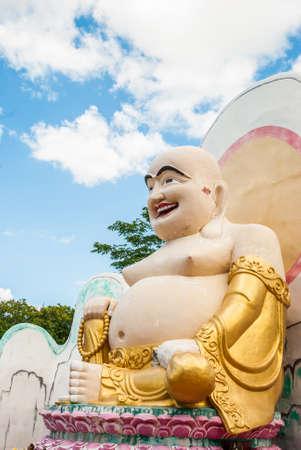 thaiart: Happy buddha