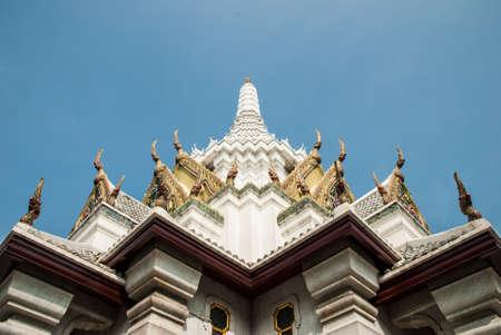 thaiart: The city pillar shrine, Bangkok, Thailand