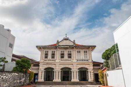 タイ ・ プーケット タイ ホアヒン博物館。プーケットで中国人の子孫の歴史を示します。