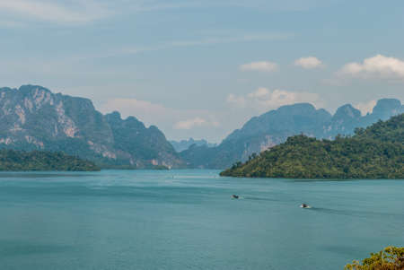 Scenic view at Khao Sok National Park, Thailand