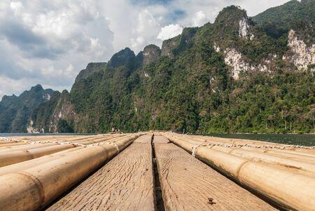 Rafting view at Khao Sok National Park, Surat Thani, Thailand
