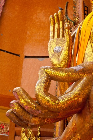 HANDS OF BUDDHA, KANCHANABURI, THAILAND photo