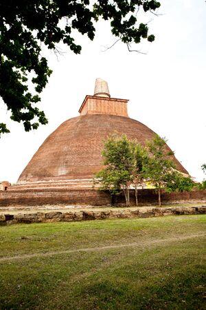 anuradhapura: jetavana stupa, anuradhapura, sri lanka Stock Photo
